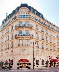 Hotel paris x hotel chateau frontenac paris hotel france for Chateau hotel paris