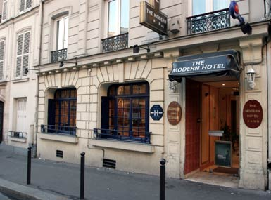 Hotels 2 etoiles paris hotel paris for Hotel moderne paris