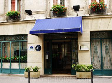 1 Paris X Best Western New Hotel Lafayette