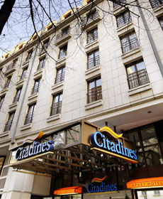 hotel paris x citadines prestige les halles paris paris hotel france. Black Bedroom Furniture Sets. Home Design Ideas