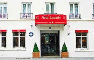 Paris Hotel Lecourbe